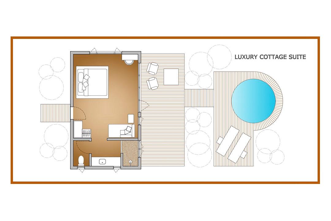 Cottage Suite Plan