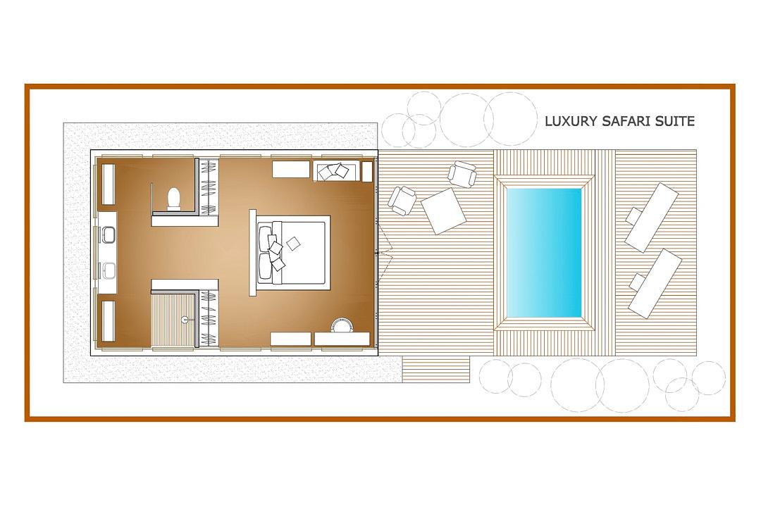 Safari Suite Plan
